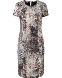 Gerry Weber - Animal Print Dress - Lyst