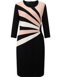 Gerry Weber - 3/4 Sleeve Jersey Dress - Lyst