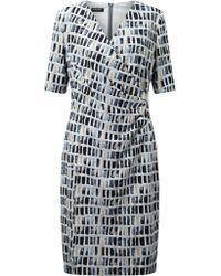 Gerry Weber   Printed Jersey Dress   Lyst