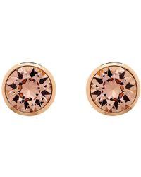 Melissa Odabash - Swarovski Crystal Stud Earrings - Lyst