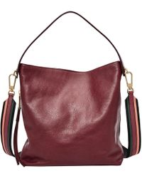 Fossil - Maya Small Leather Hobo Bag - Lyst