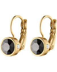Dyrberg/Kern - Swarovski Crystals Hook Earrings - Lyst