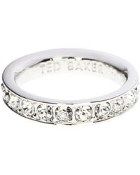 Ted Baker - Claudie Crystal Ring - Lyst