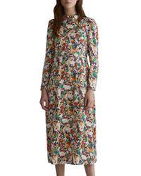 Toast - Meadow Print Silk Blend Dress - Lyst