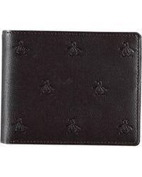 Original Penguin - Embossed Wallet - Lyst