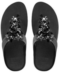 John Lewis - Fitflop Boogaloo Toe Post Sandals - Lyst