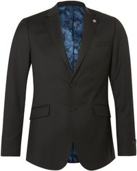 Ted Baker - Cotmodj Wool Tailored Suit Jacket - Lyst