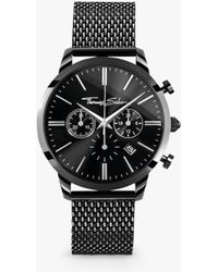 Thomas Sabo - Men's Rebel Spirit Chronograph Mesh Bracelet Strap Watch - Lyst