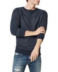 SELECTED - Simon Crew Neck Sweatshirt - Lyst