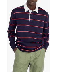 J.Crew - 1984 Stripe Rugby Shirt - Lyst