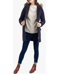 Joules - Wooldith Wool Parka - Lyst