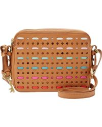 Fossil - Piper Toaster Leather Across Body Bag - Lyst