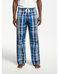 John Lewis - Shaka Cotton Check Pyjama Bottoms - Lyst