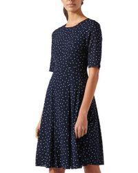 Jigsaw - Spot Fit And Flare Dress - Lyst