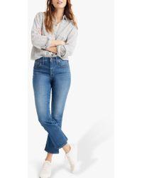 Madewell - Cali Demi-boot Eco Jeans - Lyst