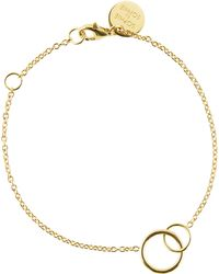 Sophie By Sophie - Intertwined Circle Chain Bracelet - Lyst