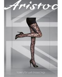Aristoc - All Over Lace Tights - Lyst
