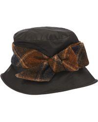Olney   Nancy Tweed Bow Rain Hat   Lyst