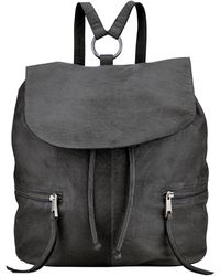 Pieces - Billie Leather Backpack - Lyst