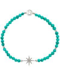 Melissa Odabash - Turquoise Crystal Star Stretch Bracelet - Lyst