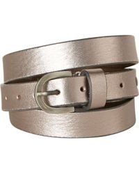 White Stuff - Skinny Leather Belt - Lyst