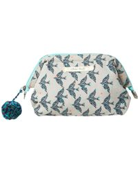 White Stuff | Linear Bird Makeup Bag | Lyst
