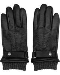 Reiss - Henley Leather Gloves - Lyst