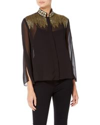 Raishma - Lila Embroidered Shirt - Lyst