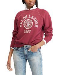 Ralph Lauren - Polo University Sweatshirt - Lyst