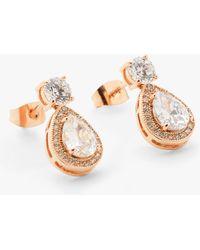 Ivory & Co. - Limelight Crystal Teardrop Drop Earrings - Lyst