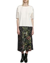 French Connection - Bluhm Botero Maxi Skirt - Lyst