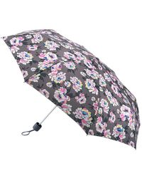 Fulton - Minilite Peonies Print Umbrella - Lyst