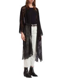 AllSaints - Zinnia Rose Kimono - Lyst