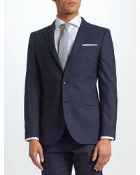 John Lewis - Ermenegildo Zegna Super 160s Wool Check Half Canvas Tailored Suit Jacket - Lyst