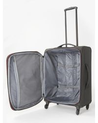 John Lewis - Qubed Area Soft 65cm 4-wheel Medium Suitcase - Lyst