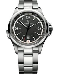 Victorinox - 241569 Men's Night Vision Bracelet Strap Watch - Lyst