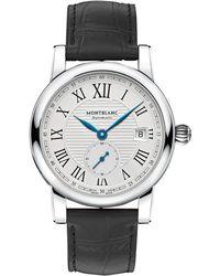Montblanc - 111881 Men's Star Date Alligator Leather Strap Watch - Lyst