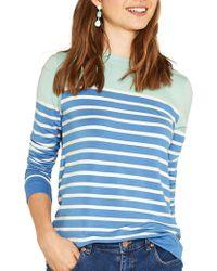 Oasis - Stripe Sweatshirt - Lyst