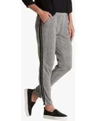 Betty Barclay - Betty & Co Skinny Check Trousers - Lyst