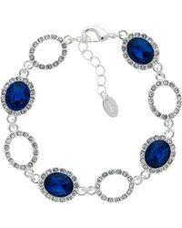 Monet - Glass Crystal Pave Bracelet - Lyst