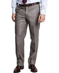 Thomas Pink - Ledger Flannel Regular Fit Trousers - Lyst