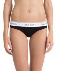 Calvin Klein - Underwear Modern Cotton Thong - Lyst