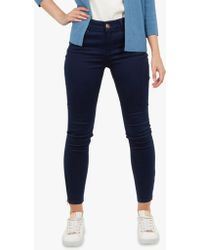123254e8605f4a Ted Baker - Dariaas Skinny Rinse Wash Jeans - Lyst