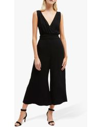 French Connection - Bessie Crepe Jumpsuit - Lyst