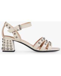 bb1436bad4f Lyst - Women s Geox Sandal heels Online Sale