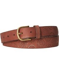 White Stuff - Punch Out Detail Belt - Lyst