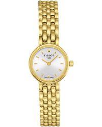 Tissot - T0580093303100 Women's Lovely Bracelet Strap Watch - Lyst