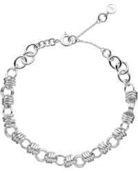 Links of London - Sweetie Xs Sterling Silver Chain Charm Bracelet - Lyst