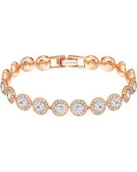 Swarovski | Angelic Round Crystal Bracelet | Lyst