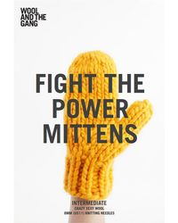 Wool And The Gang - Fight The Power Mittens Knitting Pattern - Lyst